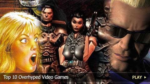 Top 10 Overhyped Video Games