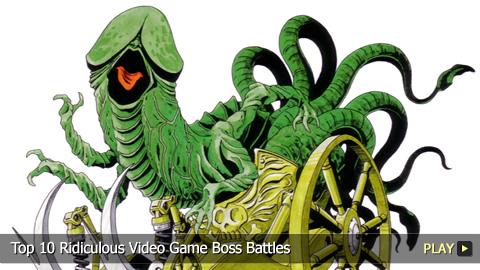 Top 10 Ridiculous Video Game Boss Battles