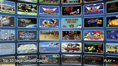 Top 10 Sega Genesis Games