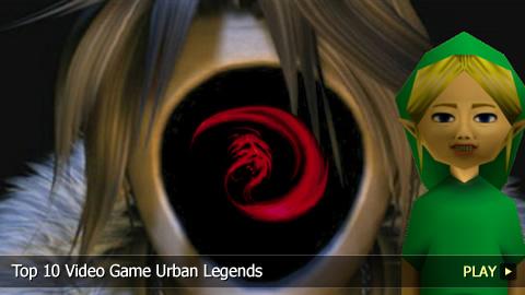 Top 10 Video Game Urban Legends
