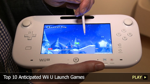 Top 10 Anticipated Wii U Launch Games