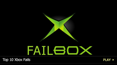 Top 10 Xbox Fails