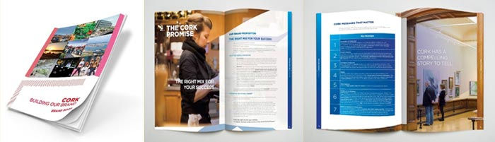 Brand book for Cork