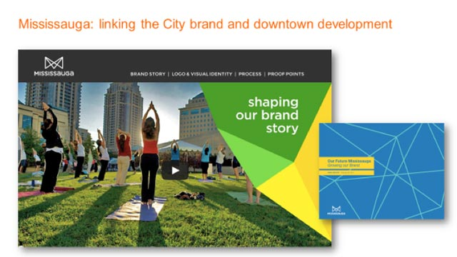 Example of the Mississauga brand design