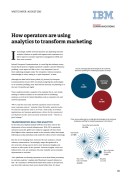 How Operators are Using Analytics to Transform Marketing