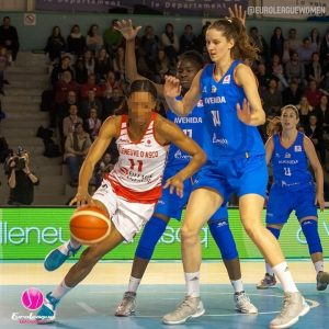 This lady is a returnee to BLMA. Who knows who she is? #EuroLeagueWomen #basketb…