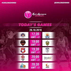 There's an all French match-up in a repeat of last season's #EuroCupWomen Final …