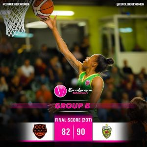WHAT A GAME! #EuroLeagueWomen Group B: @ccc_polkowice 82-90 (2OT) @wbsopron. #ba…