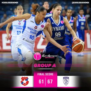 A great effort from Wisla Can Pack in front of a big crowd at the Krakow Arena b…