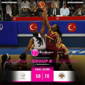 @hataybbspor fought hard, but came short in the end. #EuroLeagueWomen Group B: @…