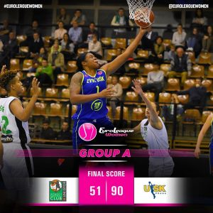 Souvereigns start into the new seasonby the 2015 champions! #EuroLeagueWomen Gro…