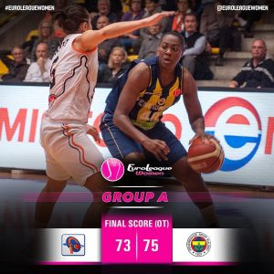 Couldn't have asked for a more exciting Finale of Game Day 1! #EuroLeagueWomen G…