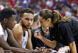 Becky Hammon Leads Spurs To Las Vegas Summer League Title