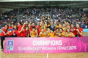 Spain Crowned EuroBasket Women 2013 Champions