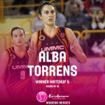 2 out of 2 for Alba Torrens in the #EuroLeagueWome…
