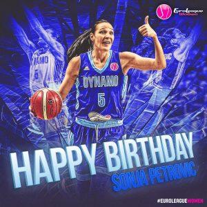 Srećan rođendan, MVP! #EuroLeagueWomen @KurskBaske…