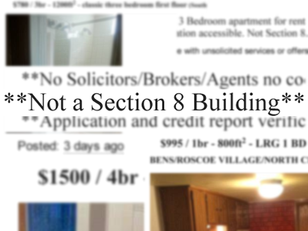 Online Ads Shut Out Section 8 Families Despite Law Wbez