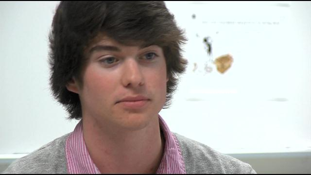 Christopher White: April WBOC/Mountaire Farms Scholar Athlete Award Winner