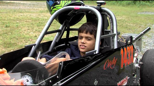 Cody Drummond: 10-Year-Old Drag Racer