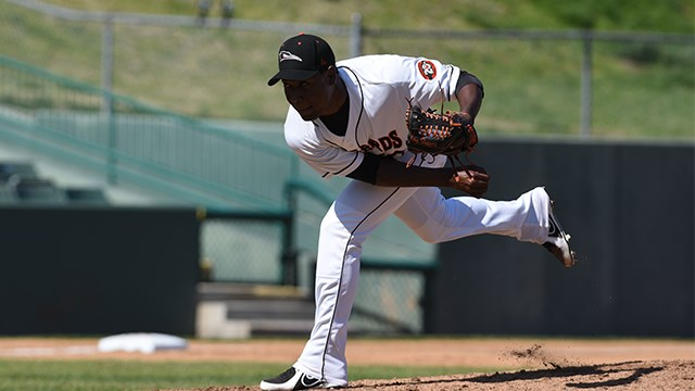 Shorebirds' Delgado Shines in 2-1 Victory