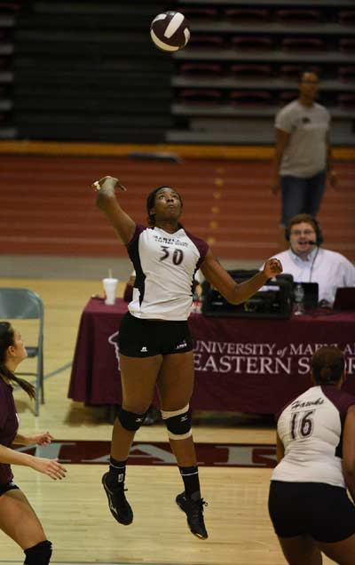 Polk, Babic Named MEAC Players of the Week