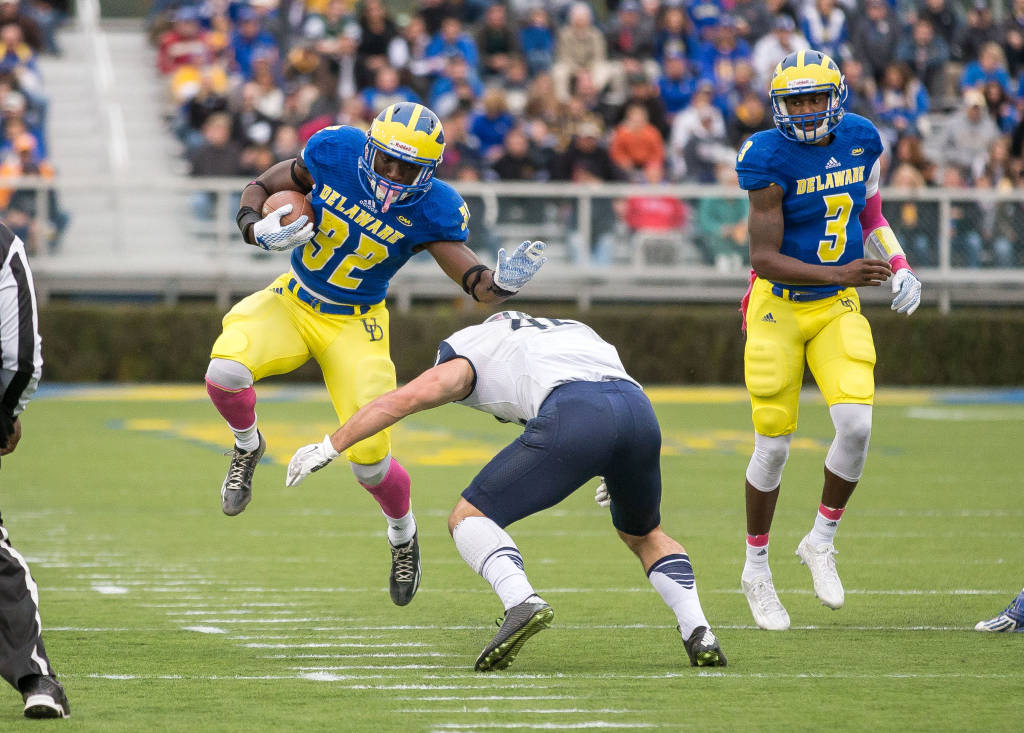 Delaware Deep At Running Back