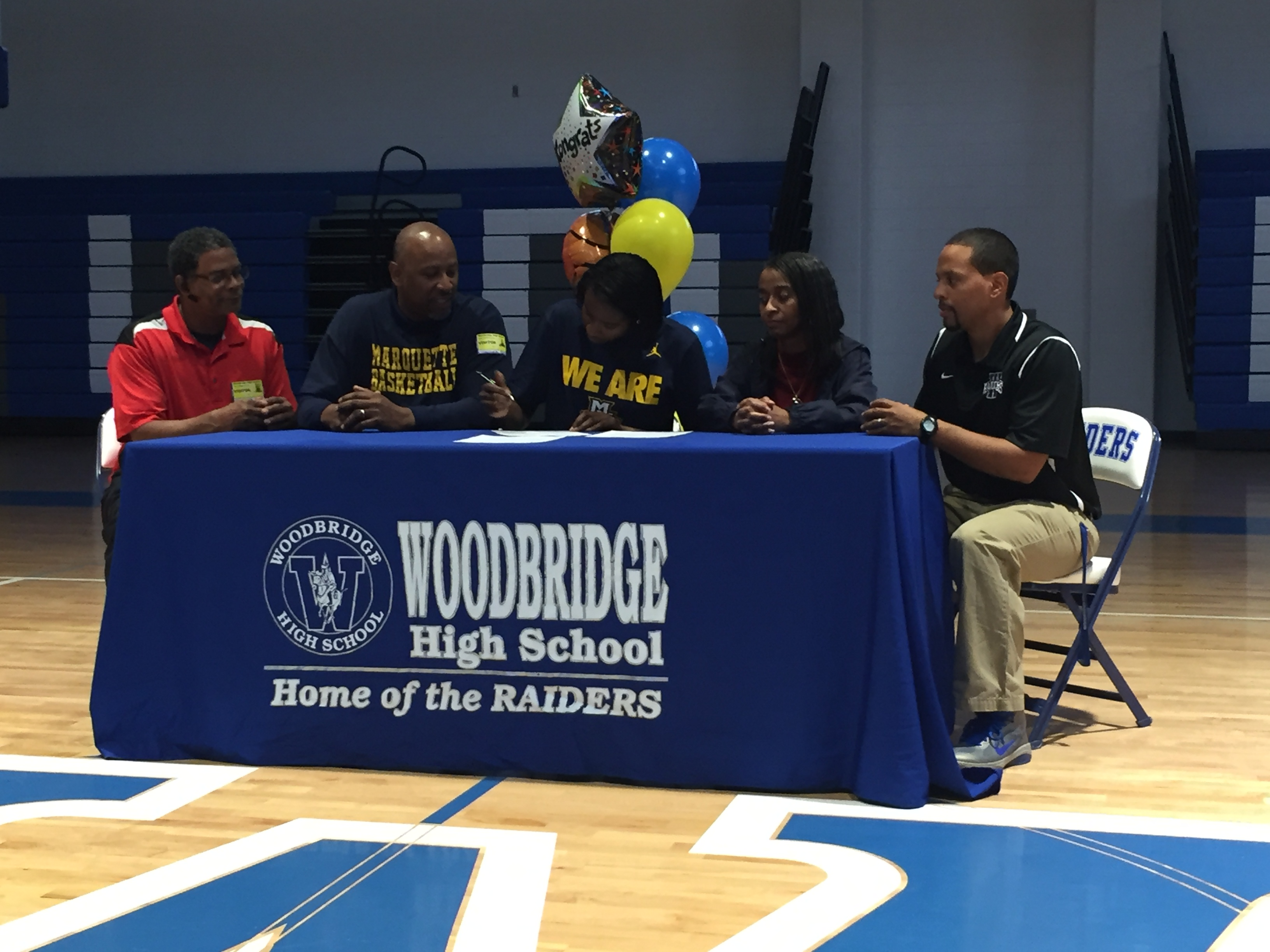 Altia Anderson Signs with Marquette
