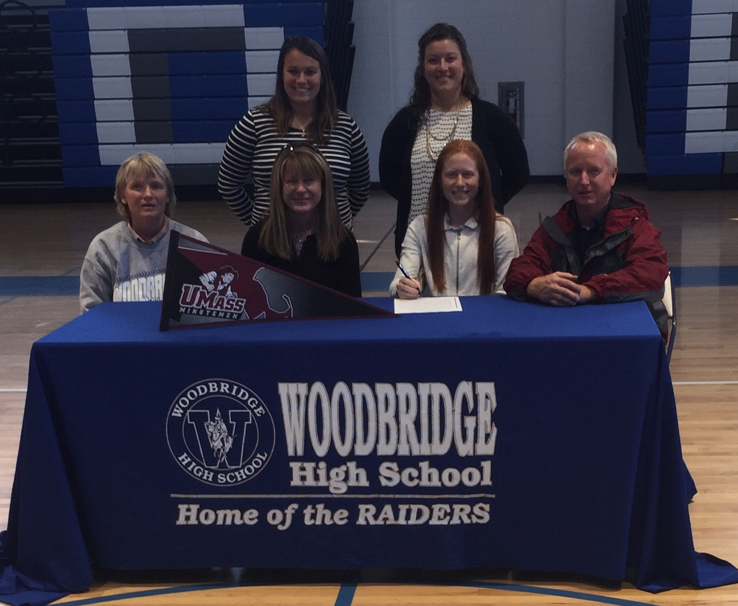 Heading to Amherst; Sara Davis Signs with UMASS Field Hockey