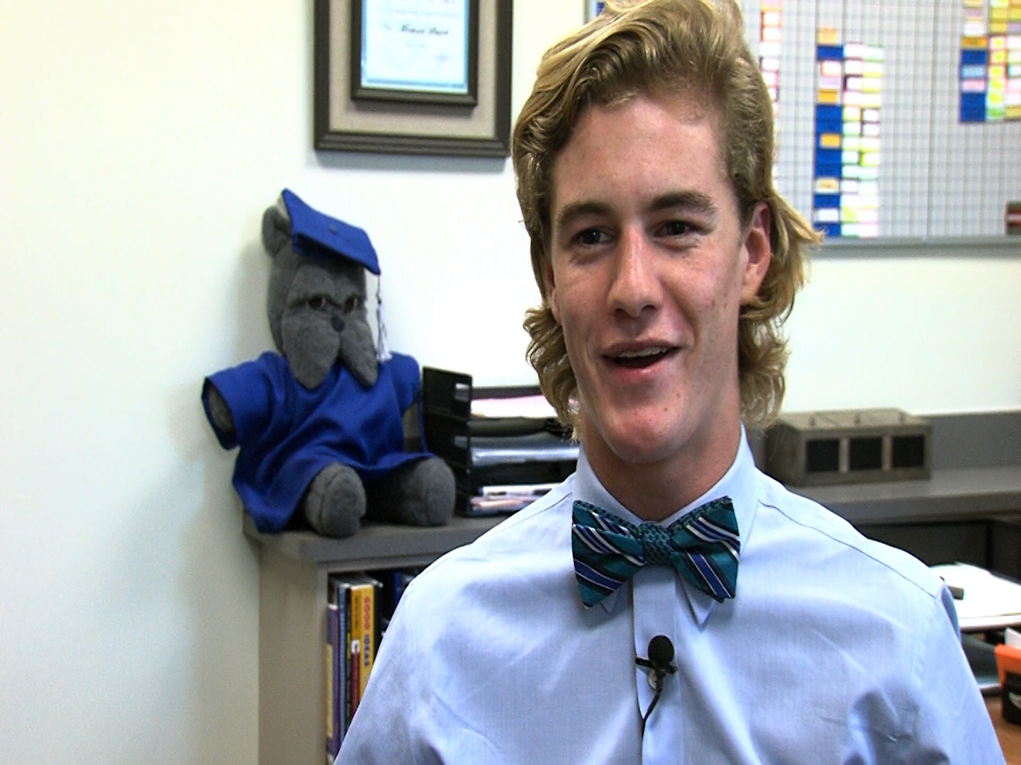 WBOC/Mountaire Farms November Scholar Athlete of the Month – Connor McCormick, North Caroline