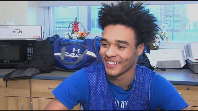 Basketball Late Bloomer: Dover B-ball Star Jordan Allen