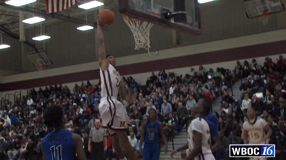 WBOC'S Dunk of the Week: Milford's Marcus Correa