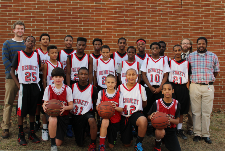"Bennett Middle School Supports Local Child with Leukemia Via ""Hoops for Hamza"""
