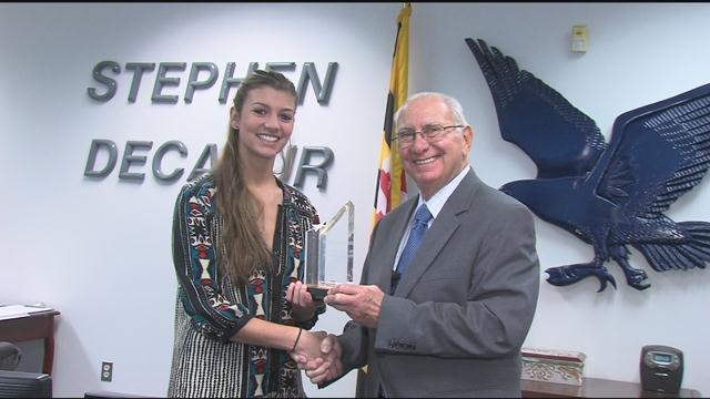 WBOC/Mountaire Farms January Scholar Athlete of the Month – Peyton Townsend, Stephen Decatur
