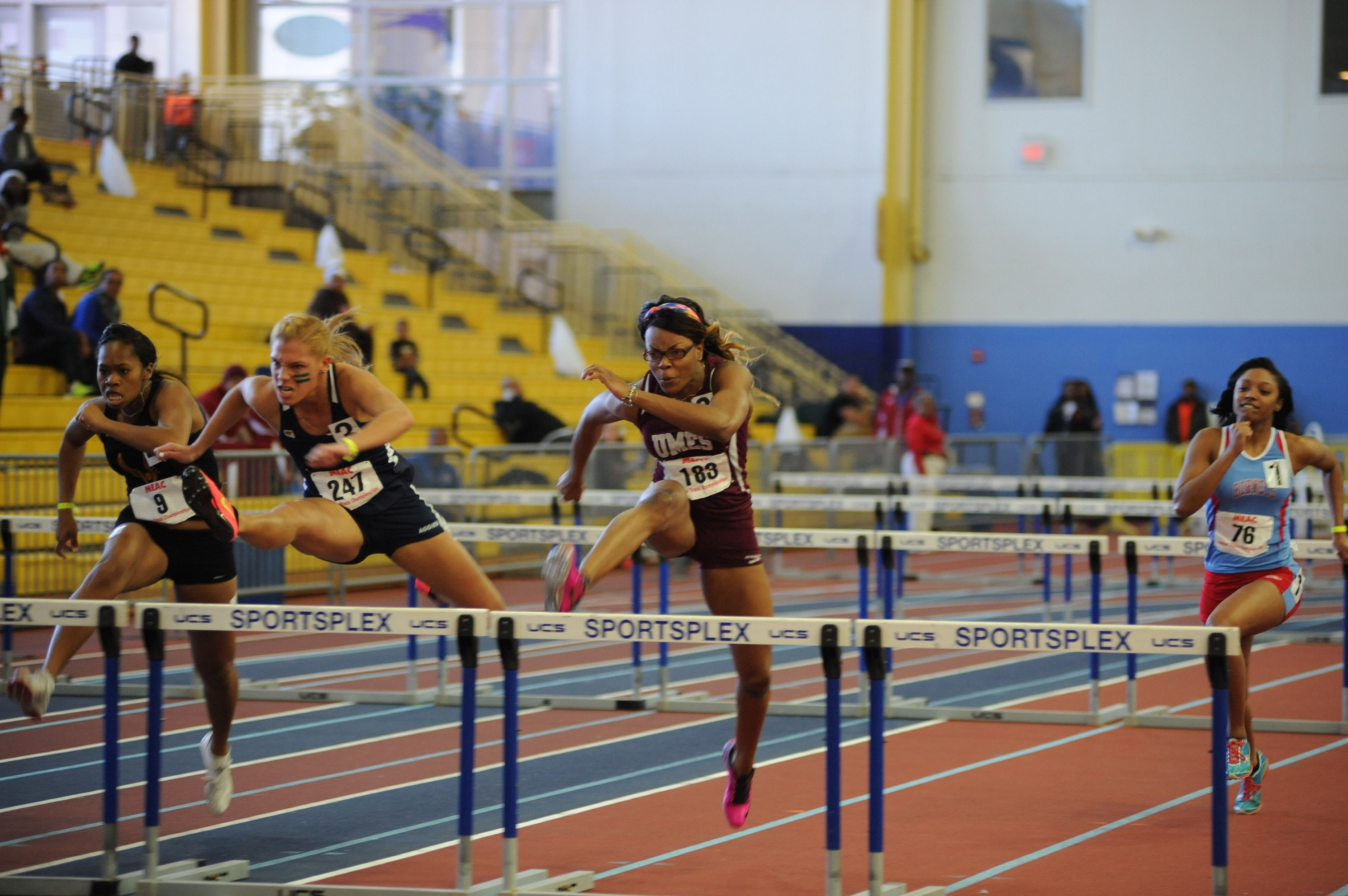 UMES Hurdler Breaks Record at Scarlet & White Invitational
