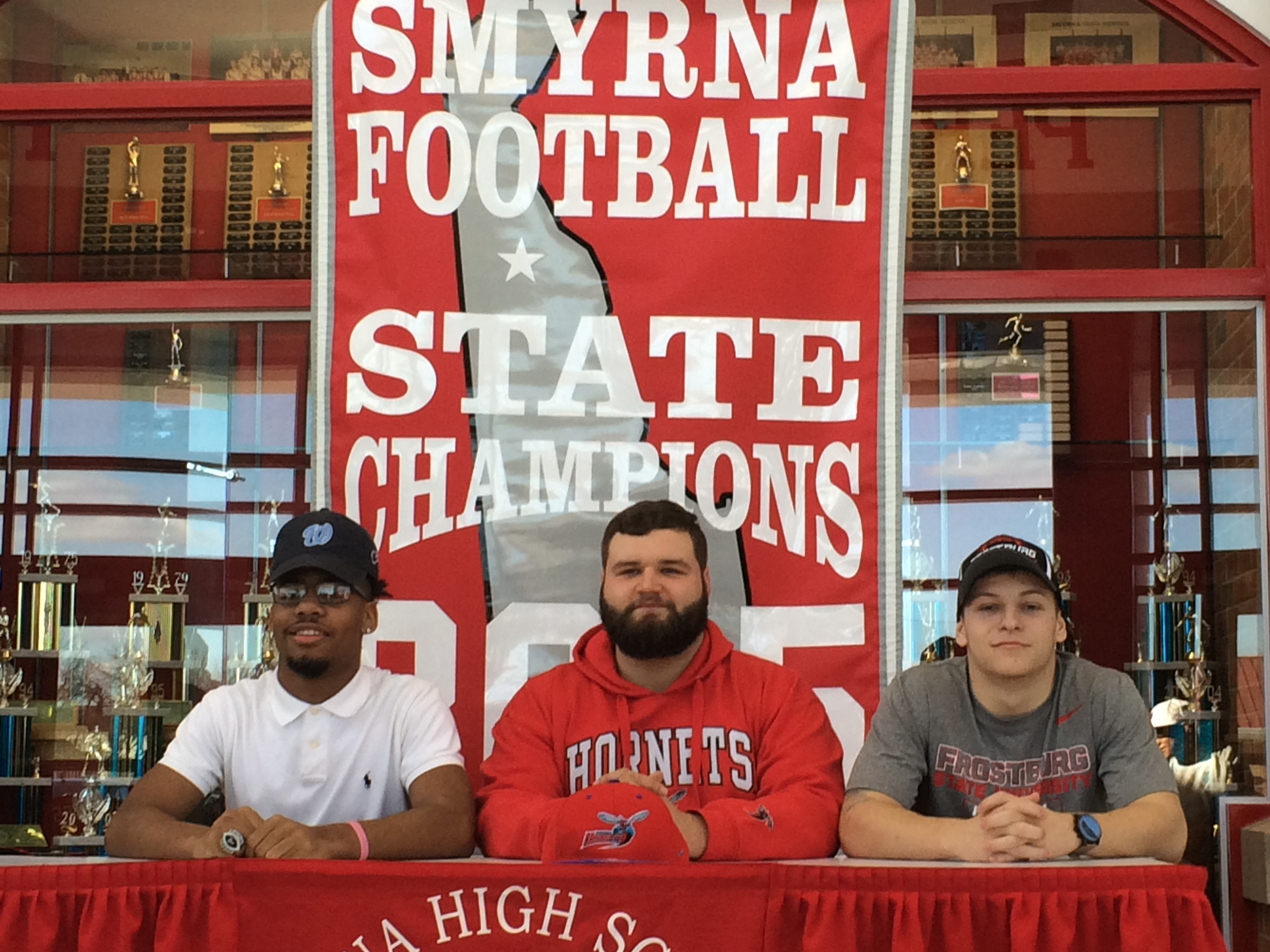 Smyrna High School Football Signing Day