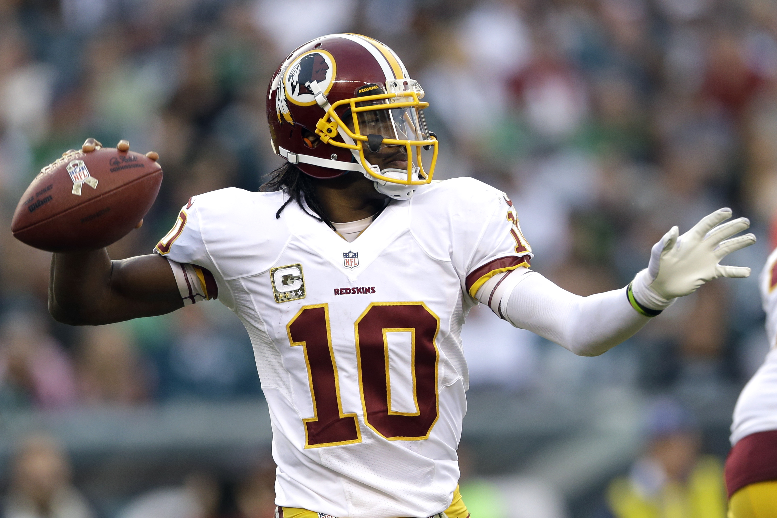 RG III And The Redskins Part Ways