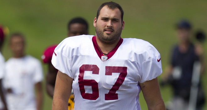 Redskins Re-Sign Josh LeRibeus
