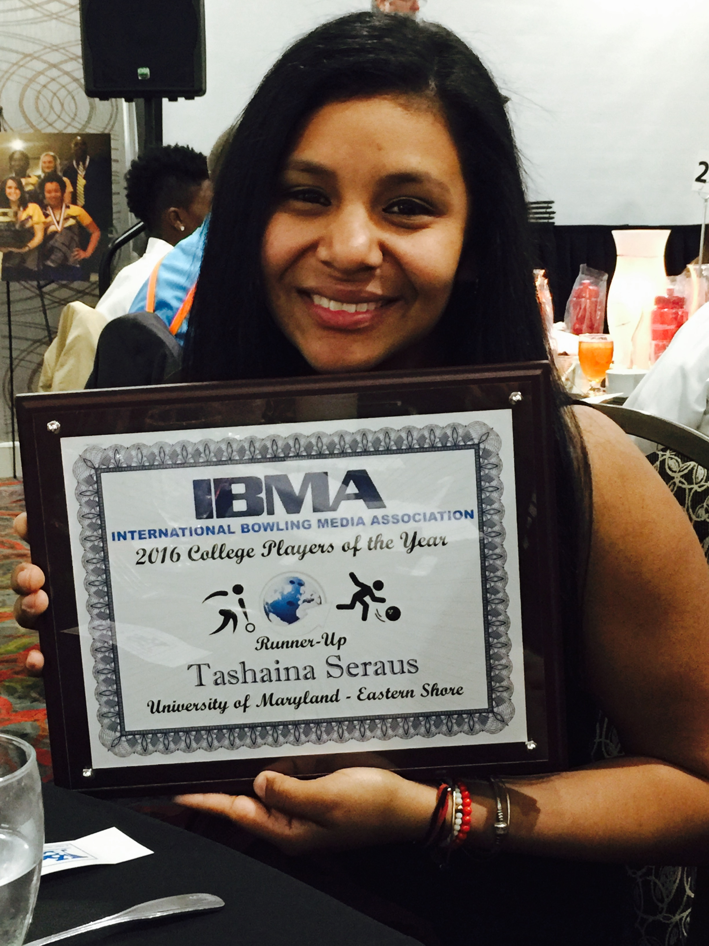 UMES Thashaina Seraus – Bowler Of The Year Runner-Up