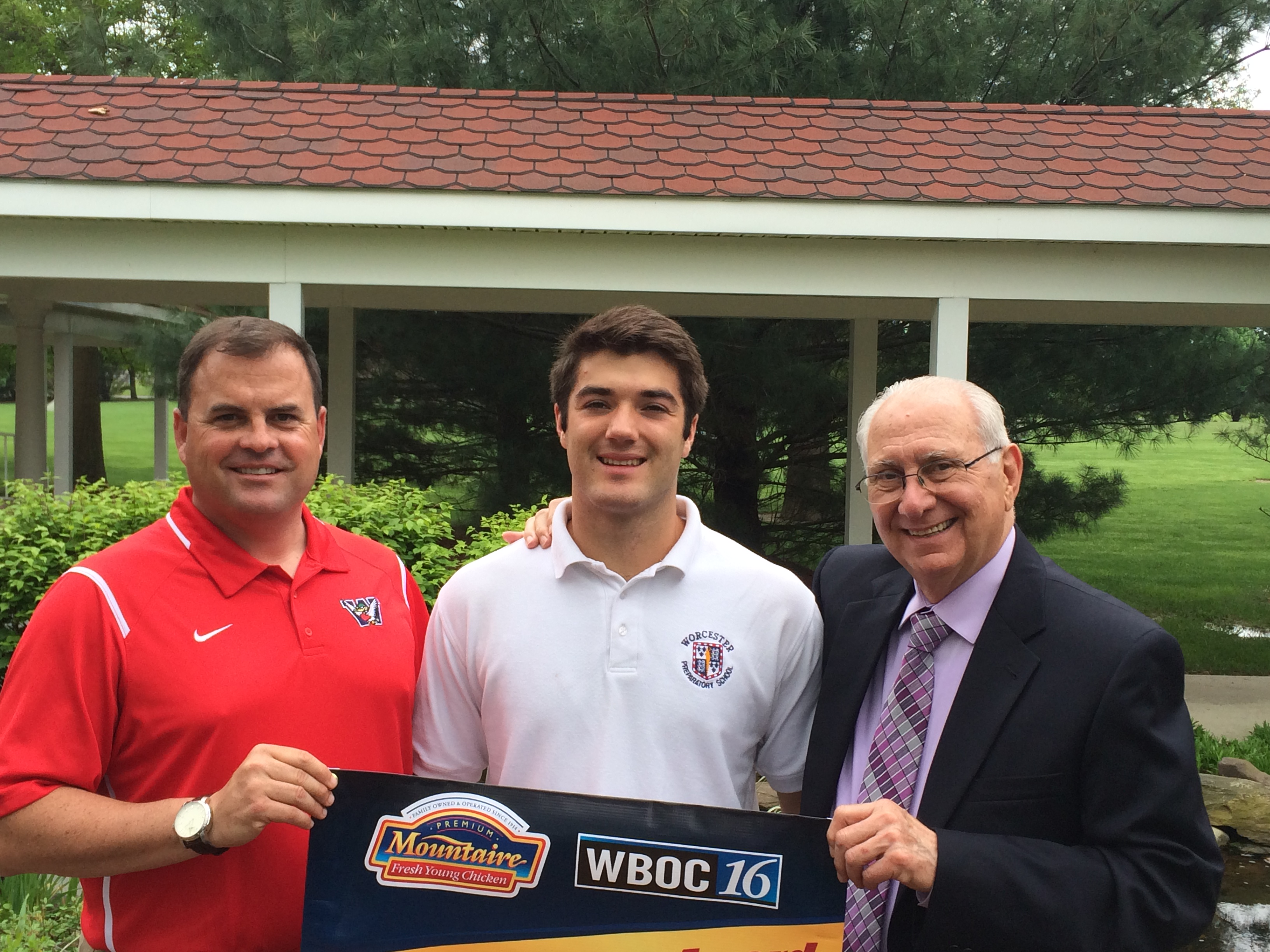 WBOC/Mountaire Farms June Scholar Athlete of the Month – Wyatt Richins, Worcester Prep