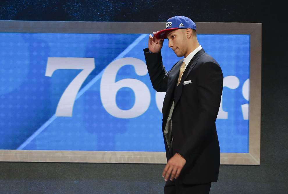 Sixers Select Simmons With First Overall Pick