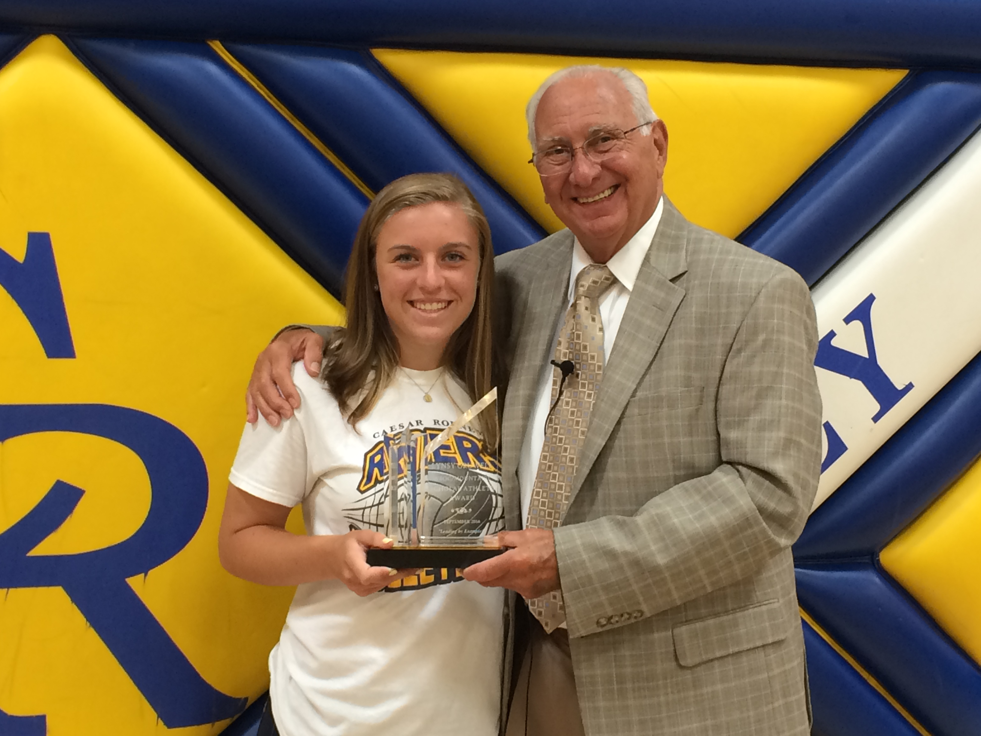 WBOC/Mountaire Farms September Scholar Athlete of the Month – Lynsey Gruwell Caesar Rodney