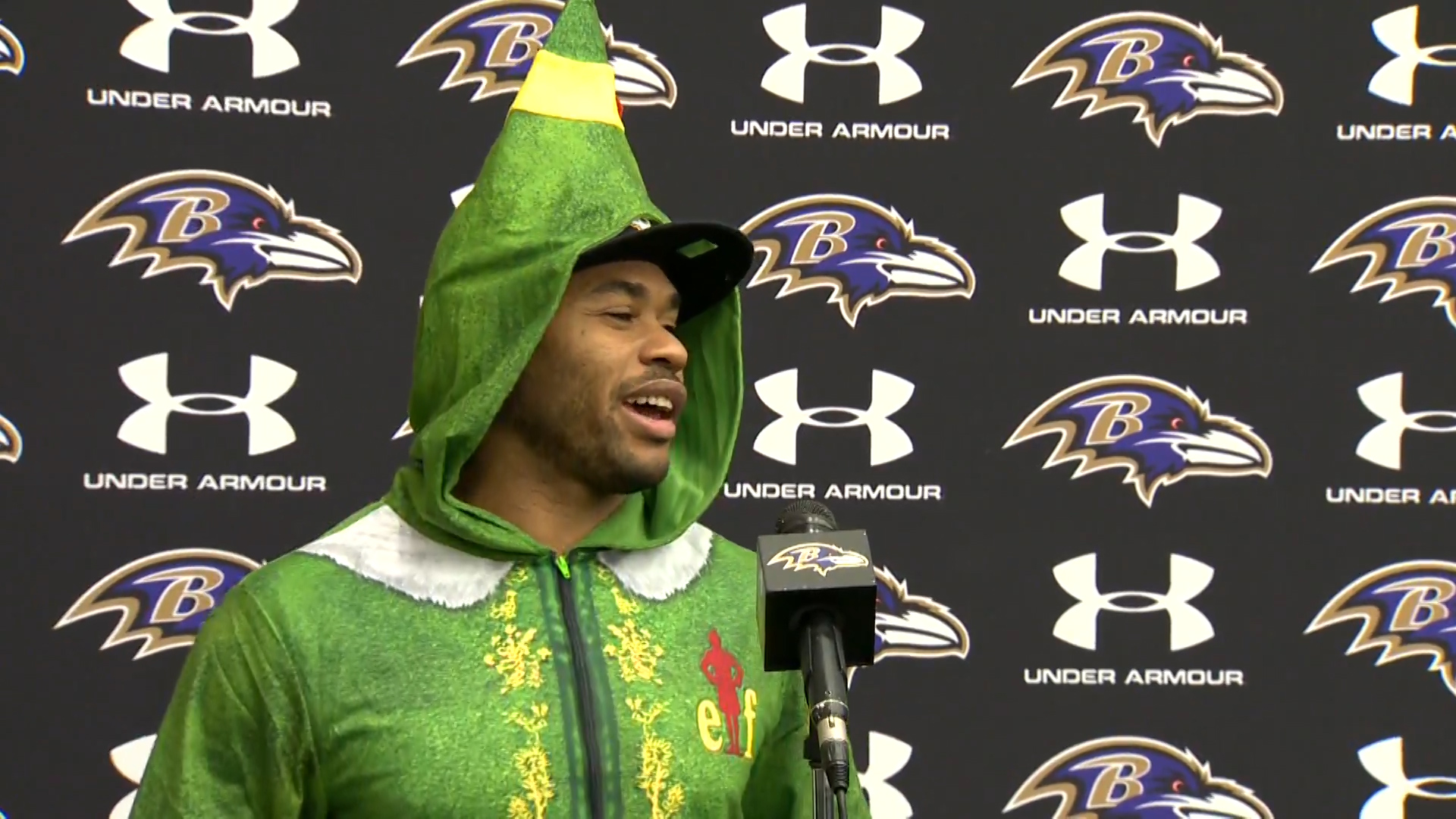 The Ravens Elf On The Shelf