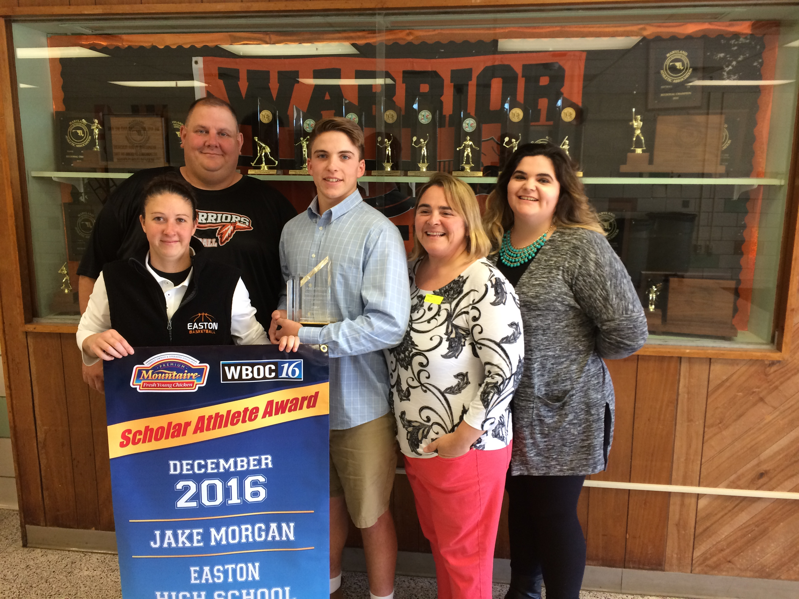 WBOC/Mountaire Farms December Scholar Athlete of the Month – Jacob Morgan, Easton