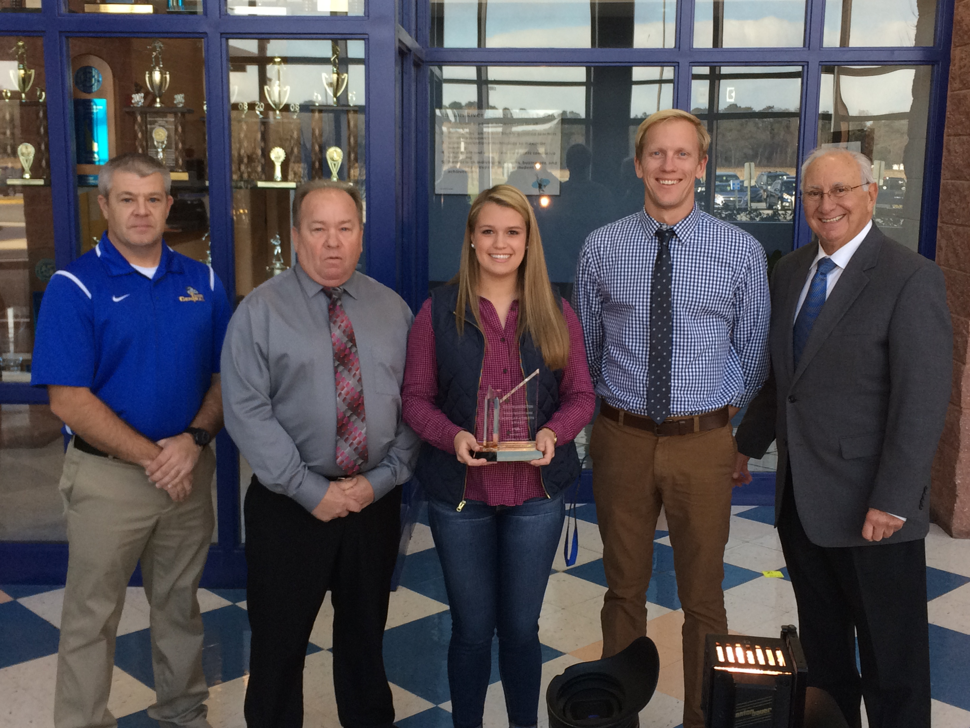 WBOC/Mountaire Farms January Scholar Athlete of the Month – Kelsi Warrington, Sussex Central