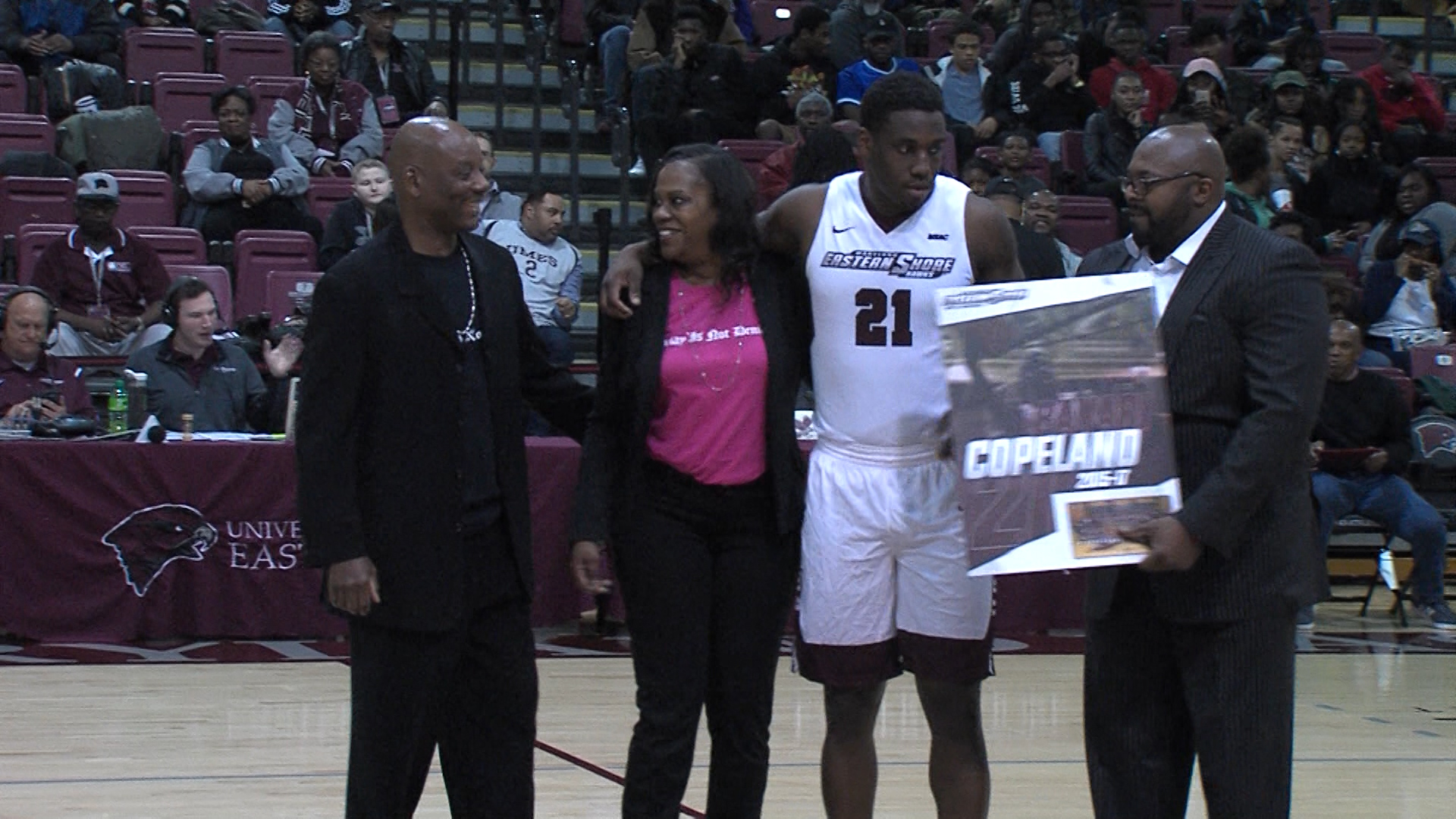 Comeback Win For Maryland Eastern Shore