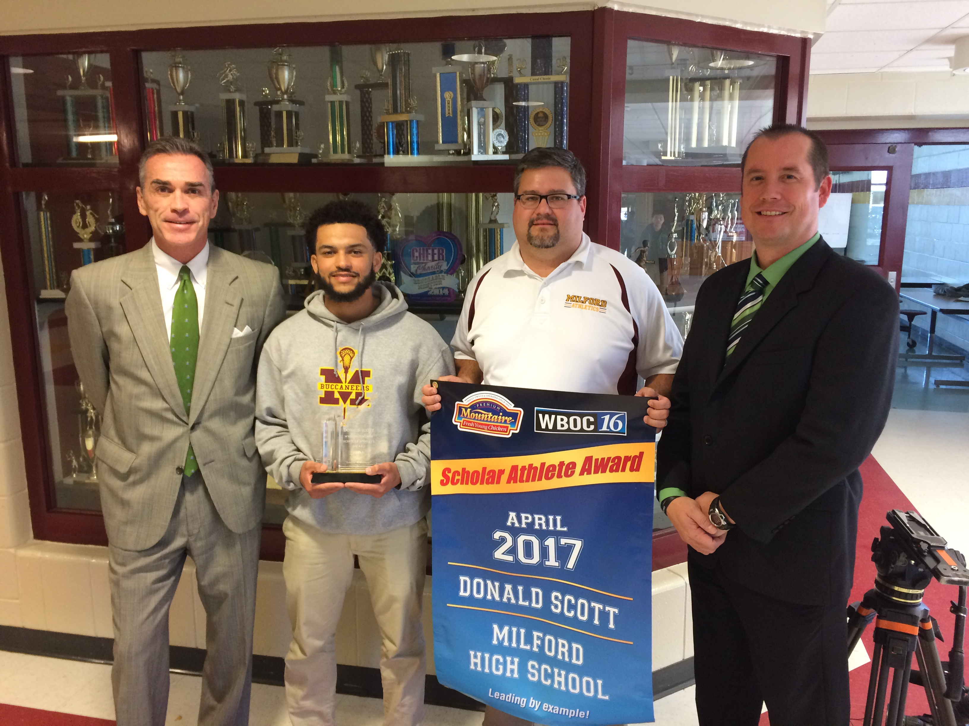 WBOC Mountaire Farms April Scholar Athlete of the Month – Don Scott Of Milford