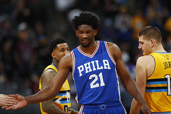 76ers Embiid Named To All-Rooke Team