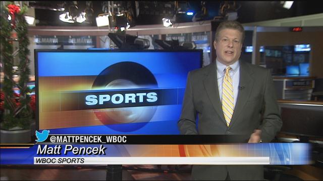 WBOC Sports Report – Wednesday December 6, 2017
