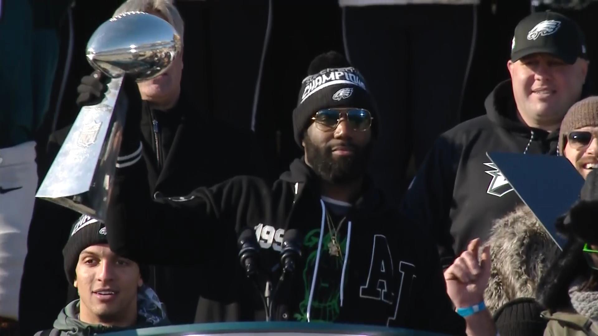 Eagles Fans Celebrate A Title