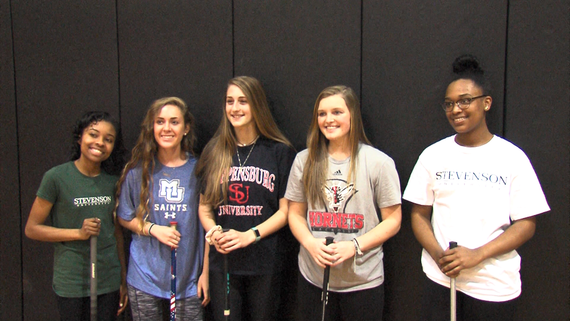 Quintet Leadership For Bennett Lacrosse Will Continue Playing Careers In College